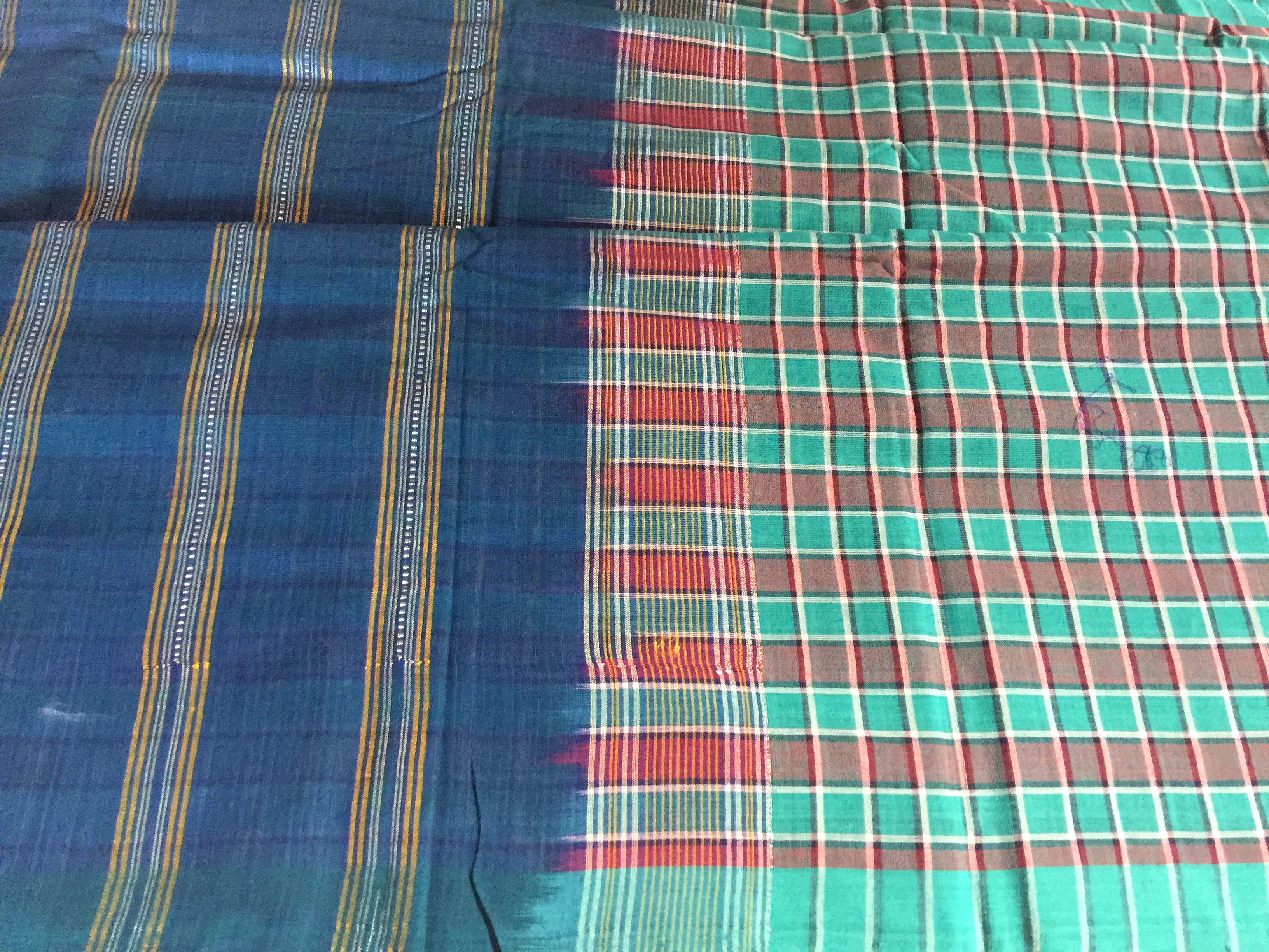 Udupi Light Green Checked