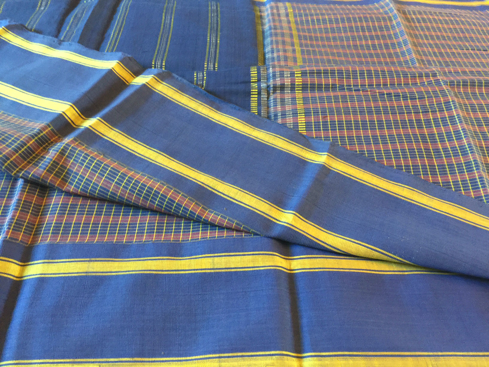 Udupi Blue and Pink Checks