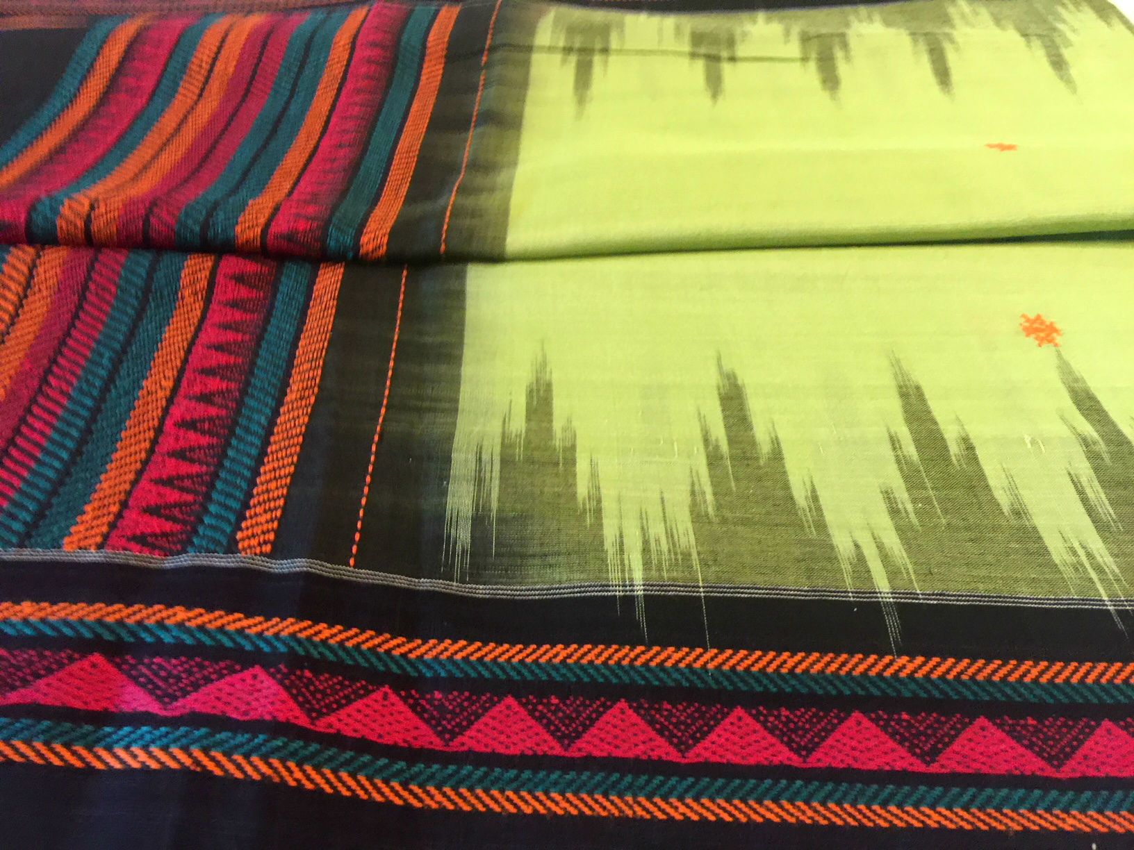 Orissa Dongria Inspired Tribal Saree